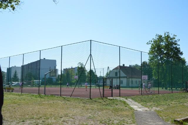 Boisko SP nr 2 Łowiczu