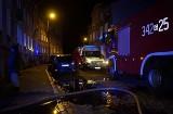 Pożar mieszkania przy ulicy Skłodowskiej w Słupsku. Jedna osoba w szpitalu (wideo, zdjęcia)