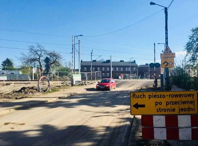 Przejazd kolejowy na ul. Konopnickiej do września został ponownie otwarty dla kierowców