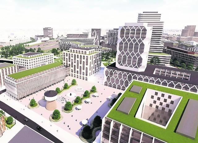 Zgodnie z opracowaną przez MPU koncepcją od strony na Wolnych Torach od strony ulicy Matyi będą mogły powstać wysokie budynki o charakterze usługowym, hotele, biurowce itp.