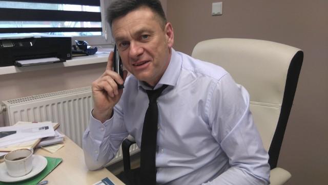Piotr Drzymalski, nowy dyrektor szpitala w Grudziądzu