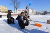 Galeria Biała: ADH zorganizowało mecz hokeja na zamarzniętym stawie (zdjęcia)