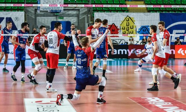 Siatkarze Visły pewnie wygrali trzeci mecz o trzecie miejsce w Tauron I lidze