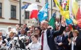 Konrada Fijołka na kilka dni przed wyborami wsparli znani polscy samorządowcy [ZDJĘCIA]