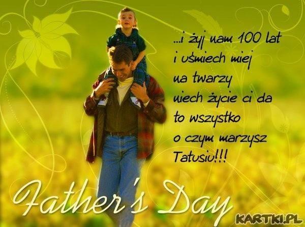 życzenia Na Dzień Ojca Najlepsze Tradycyjne Wierszyki Sms