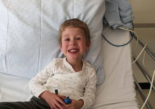 W poniedziałek 2 listopada Nikodem Skawiński przejdzie operację serca.