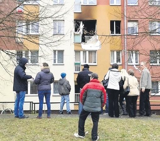 Wybuch był w mieszkaniu na drugim piętrze bloku na Starym Mieście.
