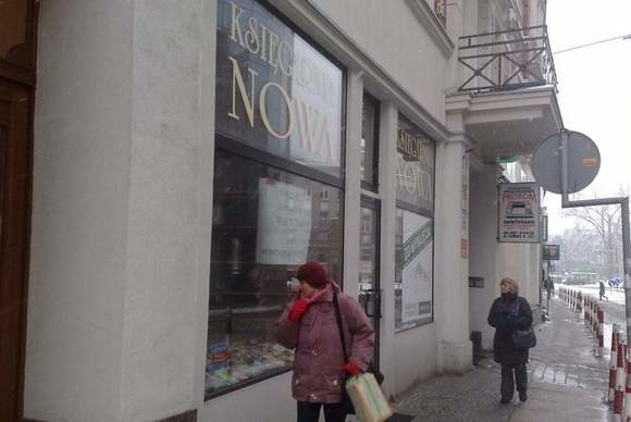 Najpóźniej 30 stycznia księgarnia Nowa przestanie działać. (fot. Artur Janowski)