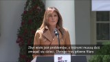 """Melania Trump przedstawiła swój program dla dzieci """"Be Best"""". Chce walczyć z uzależnieniami od social mediów i opiatów"""