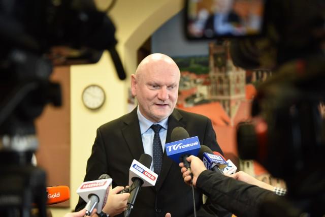 Michał Zaleski deklaruje współpracę przy rozwoju Portu Lotniczego Bydgoszcz, ale na wcześniej przedstawionych warunkach.