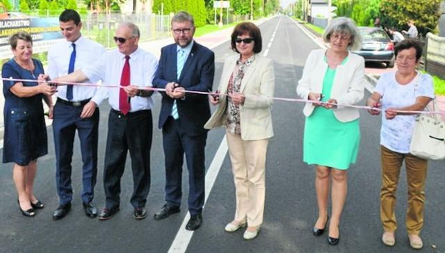 Uroczyste otwarcie nowej drogi miało miejsce 7 września.