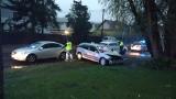 Kraków. Wypadek taksówki. Zginął kierowca, pasażer ranny