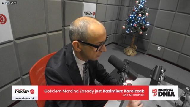 9 stycznia Gościem Dnia Dziennika Zachodniego i Radia Piekary był Kazimierz Karolczak - przewodniczący Górnośląsko-Zagłębiowskiej Metropolii