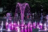 Multimedialne show fontanny przed Filharmonią Pomorską w Bydgoszczy [zdjęcia]