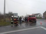 Poważny wypadek w Kąciku pod Bełchatowem. 7 osób rannych [ZDJĘCIA]