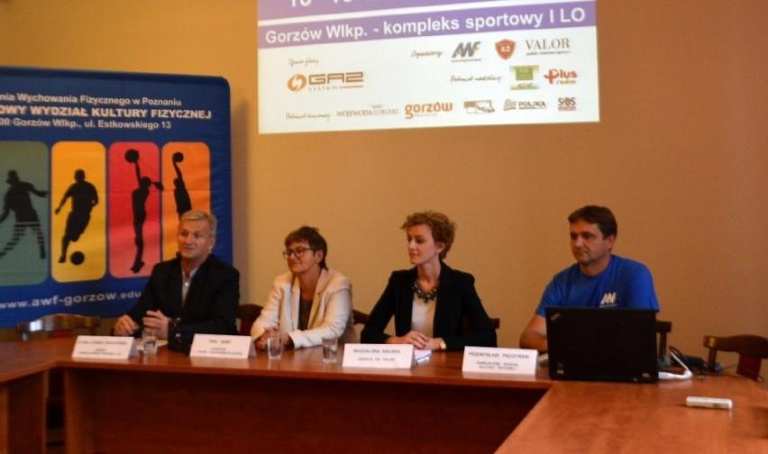 Konferencja prasowa przed Lubuskim Festiwalem Siatkówki