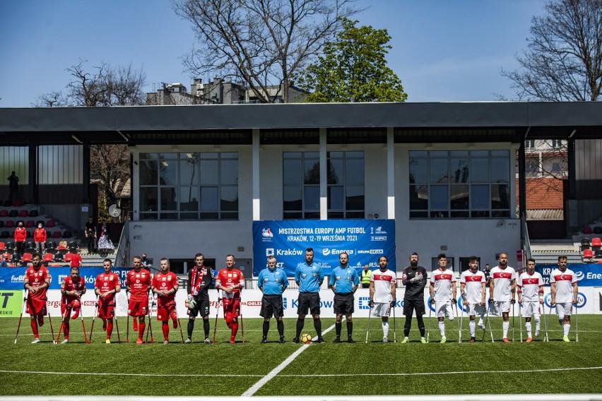 Rewanżowy mecz Polska Turcja w amp futbolu na stadionie...