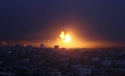 Wybuch w Gazie