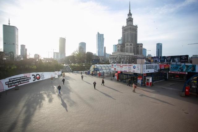 Centrum Warszawy, 16.03.2020
