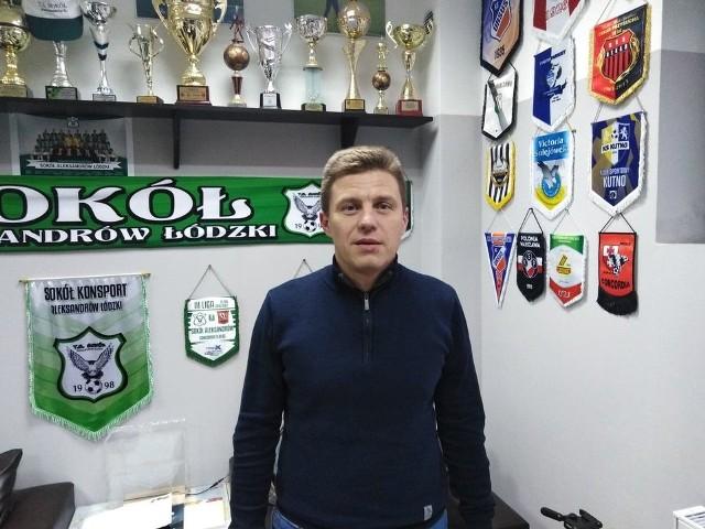 Sokół Aleksandrów ma nowego trenera