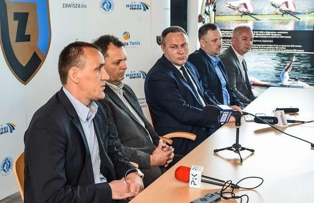 Konferencja prasowa Zawisza BydgoszczKonferencja prasowa Zawisza Bydgoszcz