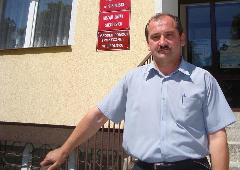 fot. Michał KurowickiDzięki zaangażowaniu naszych mieszkańców uratowaliśmy gminę w czasie majowej powodzi. Chociaż nie chciałbym przeżywać tego po raz drugi – mówi wójt Siedliska Dariusz Straus.