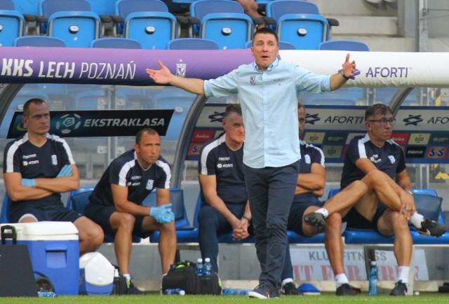 Ivan Djurdjević zdaje się mówić, że jego czas w klubie z Bułgarskiej dobiegł już końca