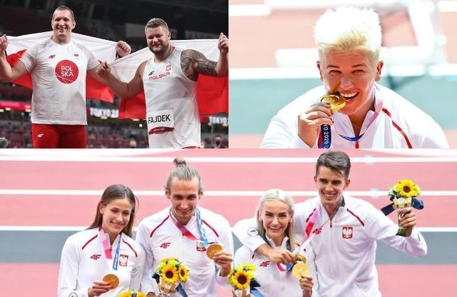 Podczas igrzysk olimpijskich w Tokio polscy sportowcy zdobyli dotychczas 10 medali. Zobaczcie radość Biało-Czerwonych na zdjęciach naszego fotoreportera!DO KOLEJNYCH ZDJĘĆ MOŻNA PRZEJŚĆ ZA POMOCĄ GESTÓW LUB STRZAŁEK