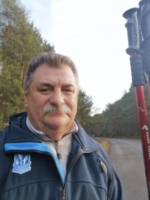 Stanisław Pytlak w czasach pandemii czeka na otwarcie trybun, a o Kolejorzu często myśli w czasie leśnych wypraw z kijkami
