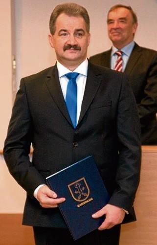 Leszek Dorula - nowy burmistrz Zakopanego