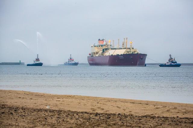 Wyczarterowany przez Qatargas statek typu Q-flex, pod nazwą Al-Nuaman, dostarczył 210 tys. m sześc. gazu do nowo wybudowanego terminalu LNG w Świnoujściu
