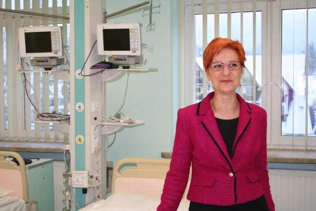 Regina Tokarz - dyrektor szpitala powiatowego w Zakopanem