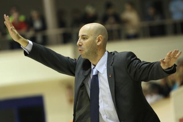 Jordi Aragones, asystent pierwszego trenera Wisły Can-Pack Kraków i członek sztabu szkoleniowego kadry Hiszpanii. `