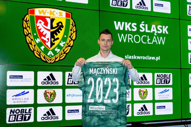 Krzysztof Mączyński przedłużył kontrakt ze Śląskiem Wrocław do 2023 roku