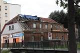 Remontują dach siedziby Orkiestry Dętej im. Ziemi Sławieńskiej [ZDJĘCIA]