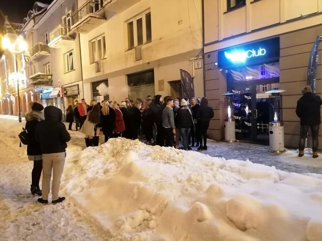 Adam Biegluk opublikował zdjęcie sprzed SkyClub Białystok 29.01.2021 na naszym profilu