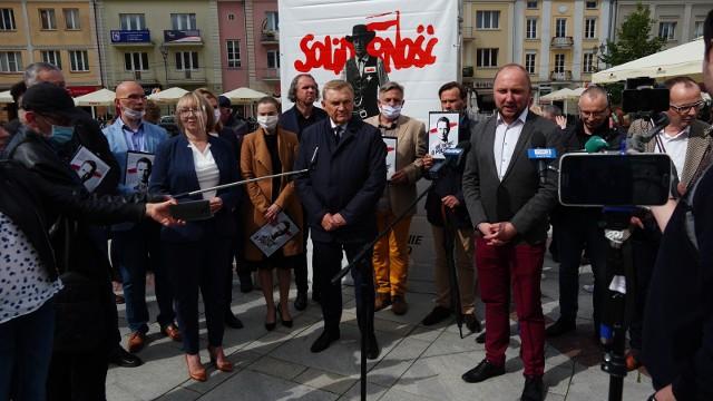 Podlaski sztab wyborczy Rafała Trzaskowskiego zainaugurował wczoraj kampanię w Białymstoku