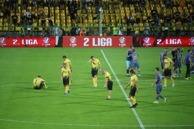 GKS Katowice przegrał ze Stalą Rzeszów 0:2   Zobacz kolejne zdjęcia. Przesuwaj zdjęcia w prawo - naciśnij strzałkę lub przycisk NASTĘPNE