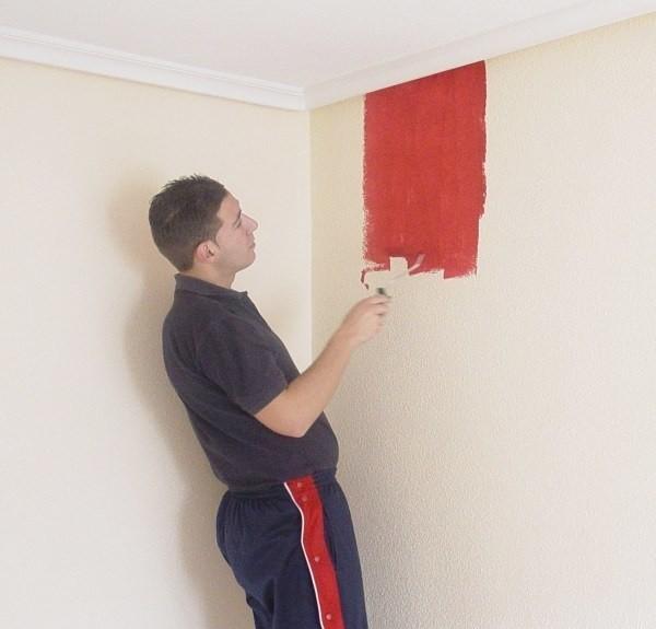 Pomalowanie ścian jest najprostszym rozwiązaniem.