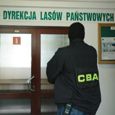 Kilka dni temu CBA wkroczyło do Regionalnej Dyrekcji Lasów Państwowych w Białymstoku