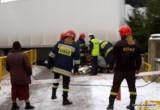Prostki. Śmiertelny wypadek na DK 65. Kobieta zginęła pod tirem (zdjęcia)