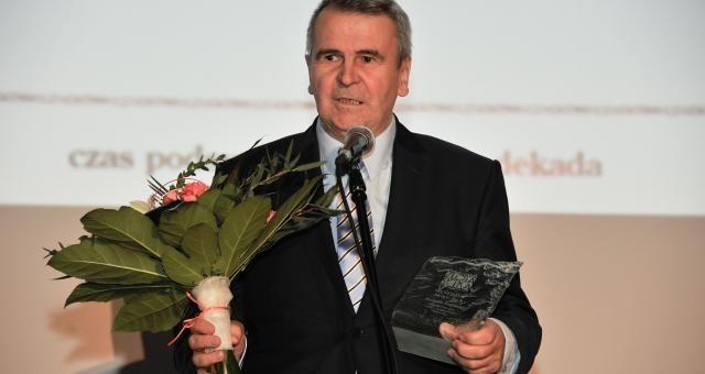 Dariusz Sapiński odbierze Medal Solidarności SpołecznejDariusz Sapiński wielokrotnie odbierał laury podczas gal Podlaskiej Złorej Setki Przedsiębiorstw Kuriera Porannego