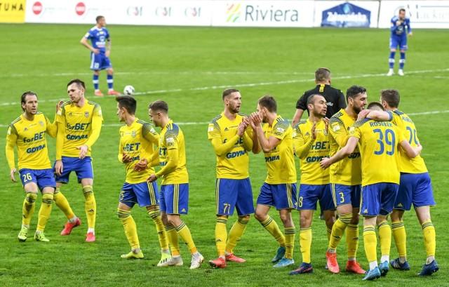 Po pechowym remisie z Bruk-Betem Termaliką Nieciecza piłkarze Arki Gdynia będą chcieli zrehabilitować się w starciu ze Stomilem Olsztyn.