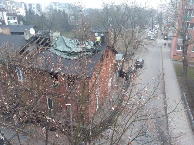 Dom Heleny Grossówny przy ul. PCK 30 w Toruniu nie straszy już dziurawym dachem i pustymi otworami po oknach