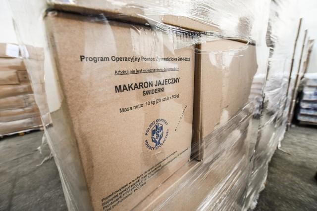 Program Operacyjny Pomoc Żywnościowa 2014–2020 współfinansowany jest z Europejskiego Funduszu Pomocy Najbardziej Potrzebującym.