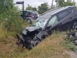 Śmiertelny wypadek w powiecie żnińskim! Nie żyje kierowca