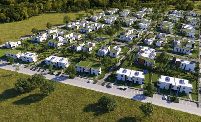 W odległości zaledwie kilku bądź kilkunastu kilometrów od Torunia powstają nowe osiedla domków. Jeśli macie dość mieszkania w bloku, być może skusi Was jedna z tych ofert. Wymarzony dom na wsi pod Toruniem możecie mieć już za mniej niż 500 tys. złotych. Zobaczcie, gdzie powstają nowe osiedla. Oto domy na sprzedaż w okolicy Torunia. Czytaj dalej. Przesuwaj zdjęcia w prawo - naciśnij strzałkę lub przycisk NASTĘPNE