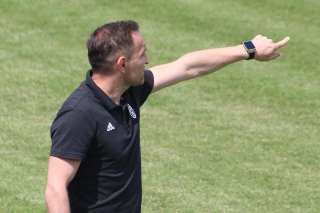 Trener Sławomir Świeca wrócił do Pogoni