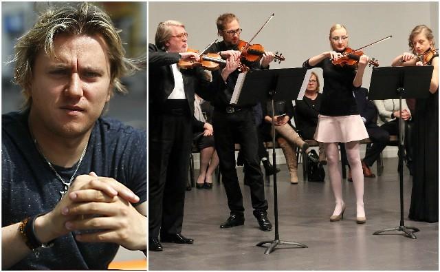 Tomasz Lazar (z lewej) oraz Baltic Neopolis Orchestra