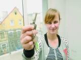 Agata Chojnicka z Bydgoszczy odebrała klucze do wymarzonego mieszkania